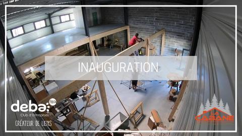 Inauguration – La Cabane