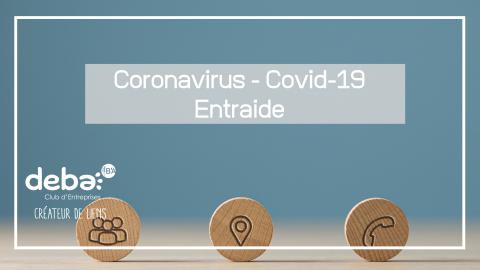 De l'entraide face au Coronavirus – Covid-19