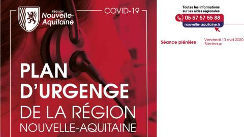 Plan d'Urgence COVID-19 Nouvelle Aquitaine