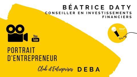 Portrait d'Entrepreneur – Béatrice DATY