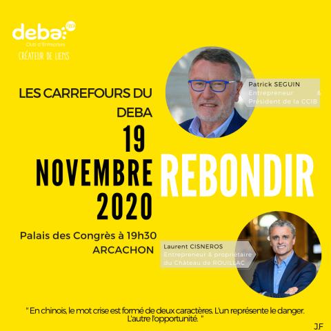 REBONDIR ! Les Carrefours du DEBA