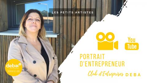 Portrait d'Entrepreneur avec Sally COUSSAU – LES PETITS ARTISTES