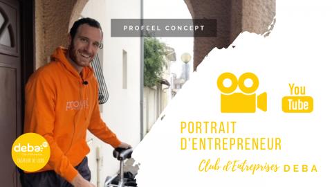 Portrait d'Entrepreneur – Wilfried Brunetti – PROFEEL CONCEPT
