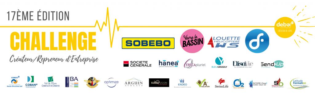 Les partenaires du concours des créateurs / repreneurs d'entreprise du Bassin d'Arcachon/Val de l'Eyre