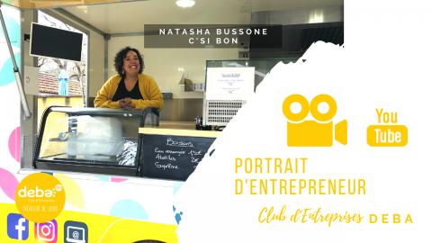 Portrait d'Entrepreneur – Natasha Bussone C'SI BON